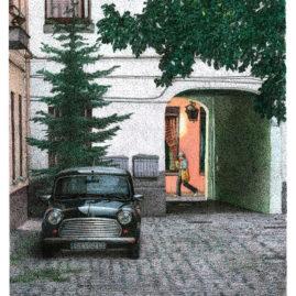 Courtyard with Mini