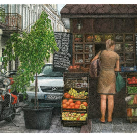 Fruit and Vegetable Kiosk