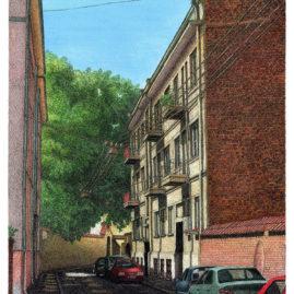 Sladkeviciaus Street