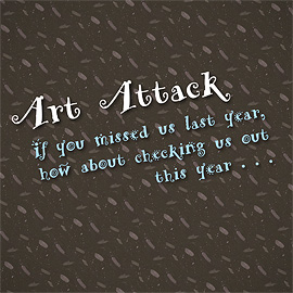 Art Attack!  Nov. 6-8, 2015