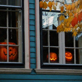 Jack-O'-Lantern Windows