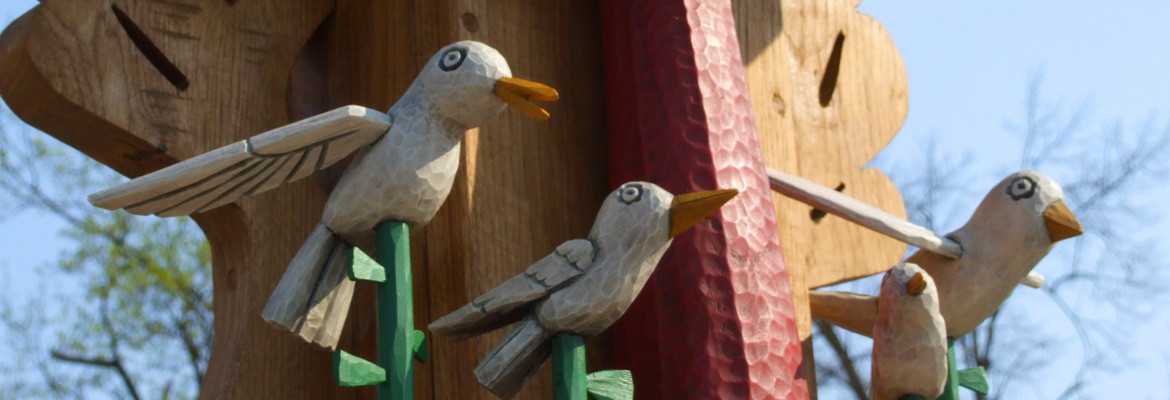 Wooden Birds slider