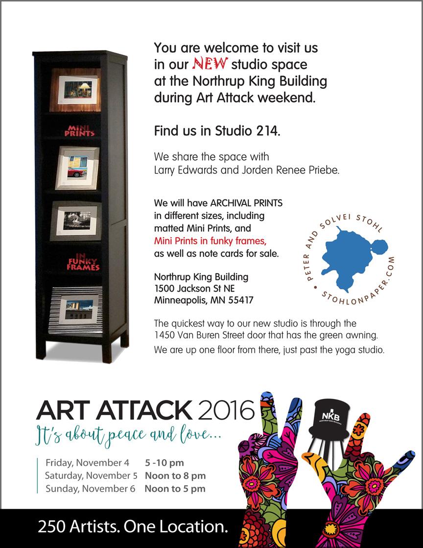 Art Attack 2016