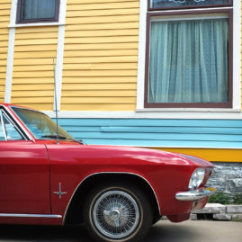 Red Corvair