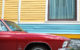 Red Corvair (vertical)