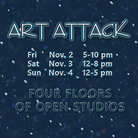 Art Attack – Nov. 2-4