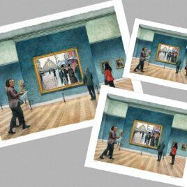 Impressionist Room – Large
