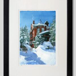 Winter House Medium