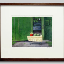 Fruit Stand by Courtyard Small