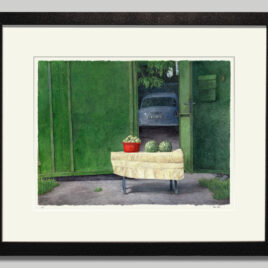 Fruit Stand by Courtyard Large
